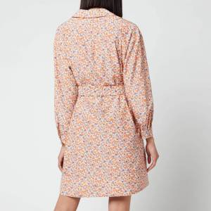 A.P.C. Women's Melissa Dress - Orange - FR 38/UK 8