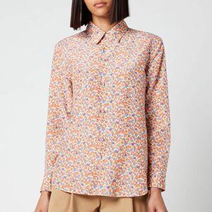 A.P.C. Women's Gina Shirt - Orange - FR 40/UK 10