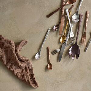 Broste Copenhagen Hammered Cutlery - 16 Piece - Copper