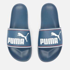 Puma Men's Leadcat Slide Sandals - Dark Denim/Puma White/High Risk Red - UK 10