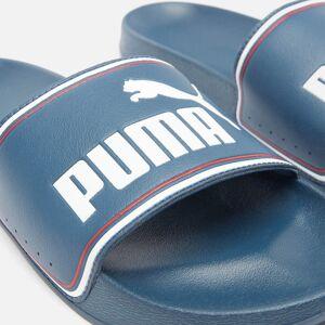 Puma Men's Leadcat Slide Sandals - Dark Denim/Puma White/High Risk Red - UK 9