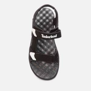 Timberland Kids' Perkins Row 2-Strap Sandals - Black - UK 1.5 Kids
