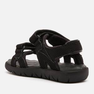 Timberland Toddlers' Perkins Row 2-Strap Sandals - Black - UK 8.5 Toddler