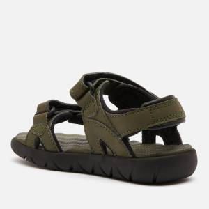Timberland Toddlers' Perkins Row 2-Strap Sandals - Dark Green - UK 7 Toddler