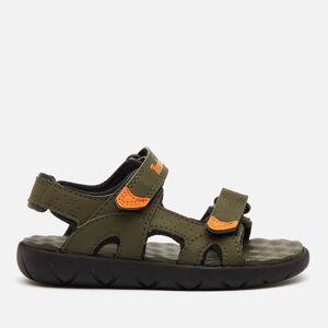 Timberland Toddlers' Perkins Row 2-Strap Sandals - Dark Green - UK 8.5 Toddler