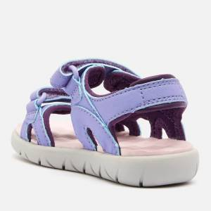 Timberland Toddlers' Perkins Row 2-Strap Sandals - Light Purple - UK 7.5 Toddler