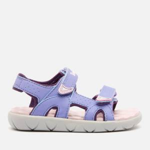 Timberland Toddlers' Perkins Row 2-Strap Sandals - Light Purple - UK 10 Kids