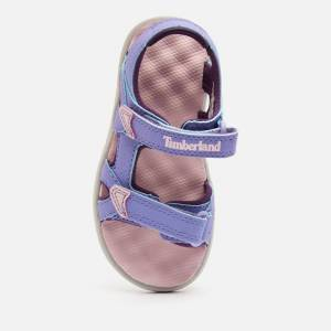 Timberland Toddlers' Perkins Row 2-Strap Sandals - Light Purple - UK 5 Toddler