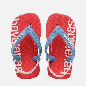 Havaianas Toddlers' Logomania Flip Flops - Ballet Rose - UK 6 Toddler