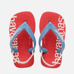 Havaianas Toddlers' Logomania Flip Flops - Ballet Rose - UK 9-10 Toddler