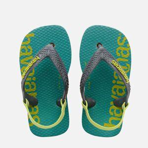 Havaianas Toddlers' Logomania Flip Flops - Begonia Orange - UK 6 Toddler