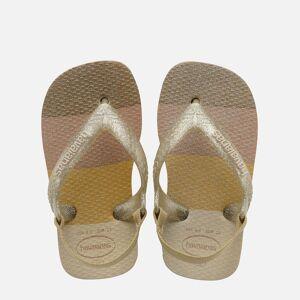 Havaianas Toddlers' Palette Glow Flip Flops - Sand - UK 9-10 Toddler