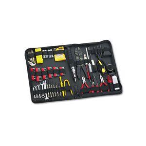 Fellowes 100-Piece Computer Tool Kit in Black Vinyl Zipper Case