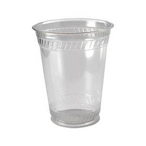 Fabri-Kal Greenware Cold Drink Cups, 16oz, Clear, 50/Sleeve, 20 Sleeves/Carton