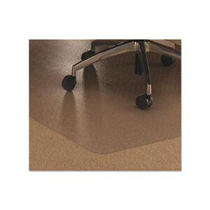 Floortex Cleartex Ultimat Polycarbonate Chair Mat for Low/Medium Pile Carpet, 48 x 60
