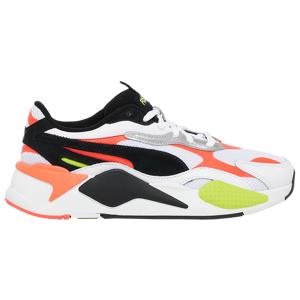 Puma Mens PUMA RS-X 3 Lava Blast - Mens Running Shoes White/Black/Pink Size 09.0