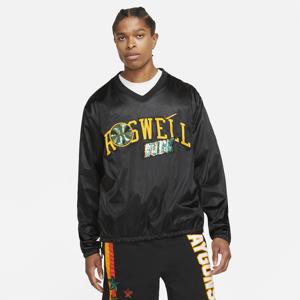 Mens Nike Rayguns Premium Jacket - Mens Black/University Gold Size L