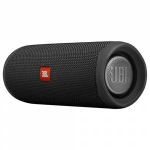 JBL FLIP 5 20W 44mm Driver Bluetooth Speaker USB-C Quick Charge IPX7 Waterproof 12 Hours Playtime - Black