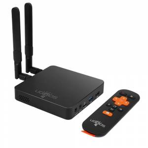 Geekbuying UGOOS AM6 Amlogic S922X Android 9.0 TV BOX 2G/16G 2.4G+5G WIFI 1000M LAN Bluetooth 5.0 USB3.0 - Black