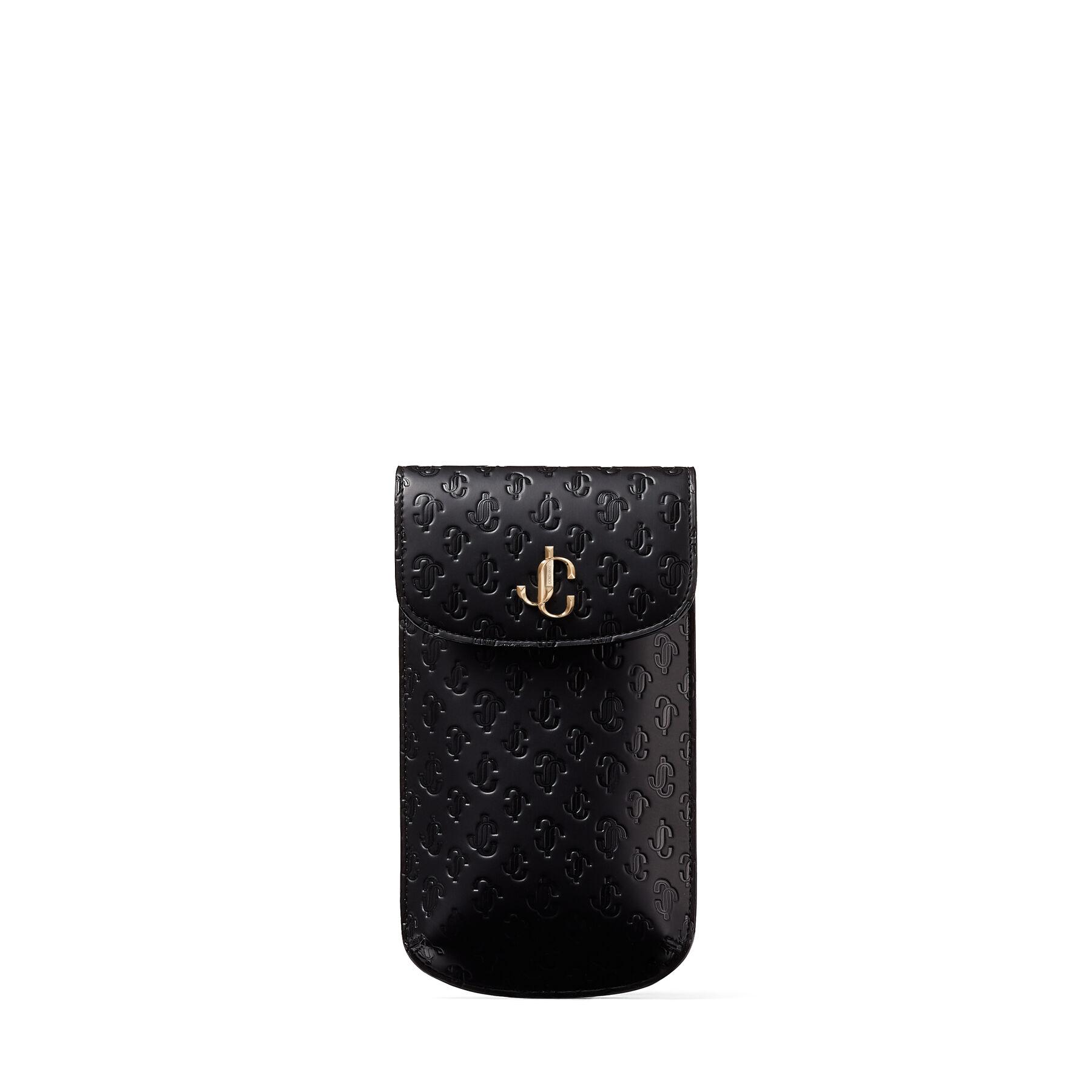 Jimmy Choo Varenne Phone Case  - Black - Size: One Size