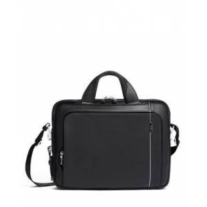 tumi Lincoln Brief Leather  - Black Leather - Size: one size