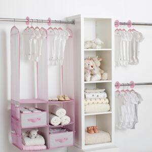 Ashley Furniture Delta Children 24-piece Nursery Storage Set, Pink