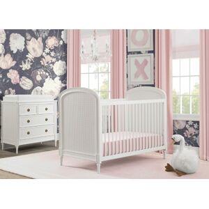 Ashley Furniture Delta Children Madeline 4-in-1 Convertible Crib, Bianca White