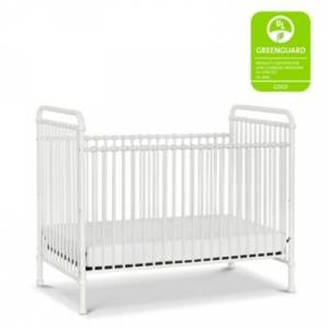 Ashley Furniture Million Dollar Baby Classic Abigail 3-in-1 Convertible Crib, Washed White