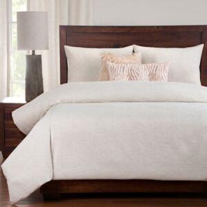 Ashley Furniture PoloGear Belmont Spirit 6 Piece Queen Luxury Duvet Set, Light Beige