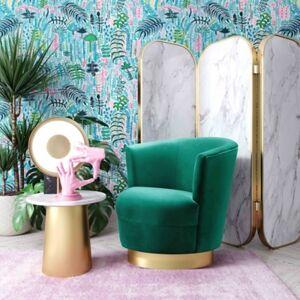 Ashley Furniture Noah Green Swivel Chair, Green
