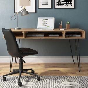 "Ashley Furniture Simpli Home Hunter 60"" Desk, Brown"