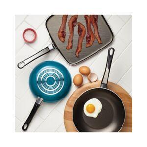 Farberware High Performance Aluminum Nonstick 17-Piece Cookware Set, Aqua, Aqua