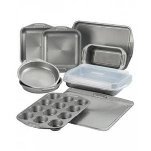 Ashley Furniture Circulon Total Nonstick Bakeware 10-Piece Bakeware Set, Gray