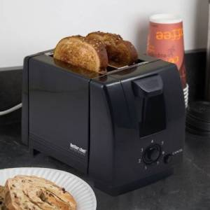 Ashley Furniture Better Chef Two Slice Toaster, Black