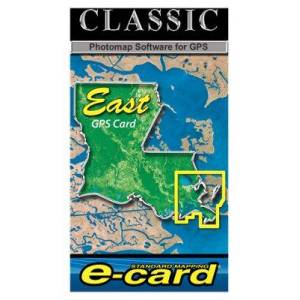 Standard Mapping Services Classic Marine Map GPS E-Cards - LA East Classic - Garmin