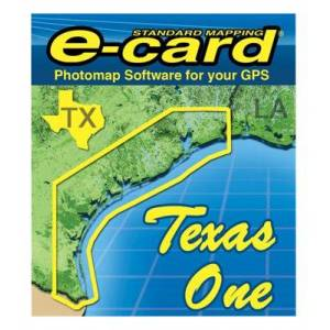 Standard Mapping Services Classic Marine Map GPS E-Cards - TX One Classic - Lowrance