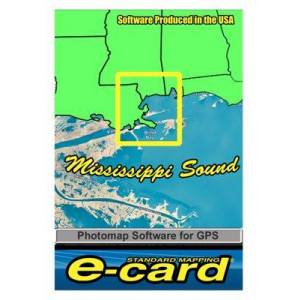 Standard Mapping Services Classic Marine Map GPS E-Cards - MS Sound Classic - Garmin