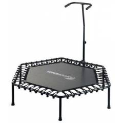 Upper Bounce Hexagonal Fitness Mini-Trampoline with Bungee Cord Suspension