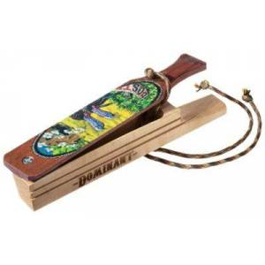 Tom Teasers Custom Calls Dominant Hen Brothers of Spring Special Edition Box Turkey Call - Curly Maple/PH