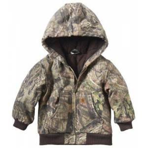 Carhartt Camo Active Flannel Quilt-Lined Jacket for Babies or Toddlers