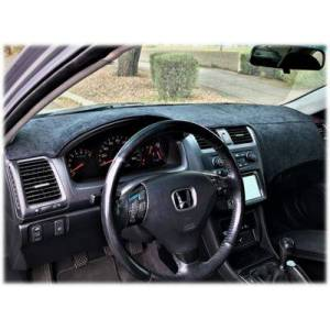 Dash Topper Brushed Suede Dashboard Cover