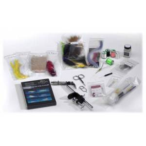 White River Fly Shop Deluxe Fly Tying Kit - Saltwater Tying