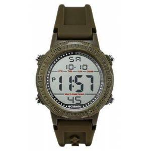 Columbia Silicone Digital Watch - Olive