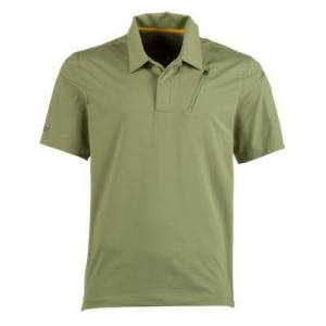 5.11 Tactical Odyssey Short-Sleeve Polo Shirt for Men - Mosstone - S
