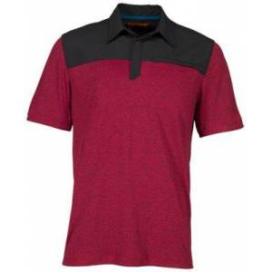 5.11 Tactical Rapid Short-Sleeve Polo Shirt for Men - Engine Red - M