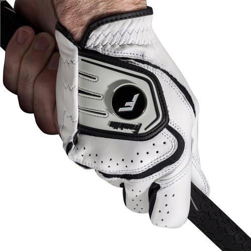 Franklin Sports Mens Leather Golf Glove -White