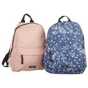 Kendall + Kylie 2-Pk. Star & Solid Backpacks -Blue