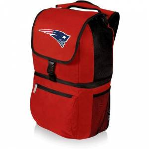 New England Patriots Zuma Insulated Backpack by Oniva -Red