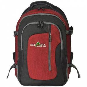 Olympia Luggage Skyfall 19'' Outdoor Backpack -Black
