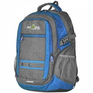 Olympia Luggage Eagle 19'' Outdoor Backpack -Grey